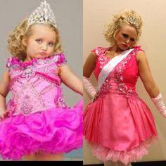 Miranda Lambert dresses up as Honey Boo Boo.