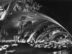 Tropicana, Cuba 1952 Max Borges Arcos de Crystal.  Spent a marvelous evening here in 1956.