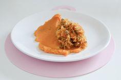 Food for Kids - Hovädzie mäso s mrkvou a pýre zo sladkých zemiakov