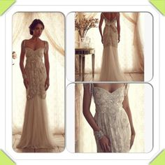 Anna campbell wedding dress IN LOVE!!! - Weddingbee