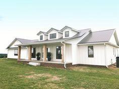 Best Creekside Custom Exterior Pt 1 White Farmhouse 400 x 300