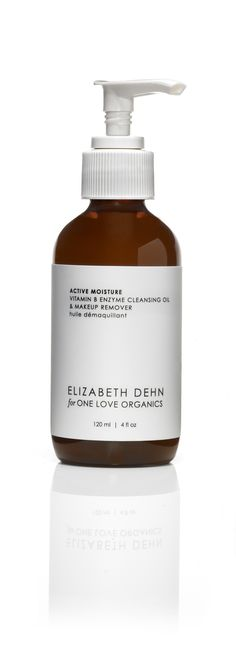 Elizabeth Dehn for One Love Organics | ACTIVE MOISTURE CLEANSING OIL & MAKEUP REMOVER. Works like a dream! Exfoliates, gently detoxes, deep cleans, & removes makeup all while restoring moisture & pH balance!