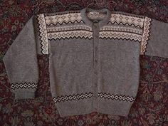 Label: Handmade in Norway, Husfliden Ålesund Sweater Cardigan, Men Sweater, Norwegian Knitting, Alesund, Tapestry Weaving, Jumpers, Embroidery Patterns, Norway, Knitwear