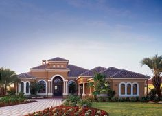 Andalucia, Georgia Luxury Home Plan, Georgia Custom House Designs ...