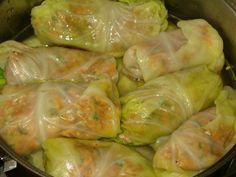 Amish recipes ,Pepper Cabbage Rolls