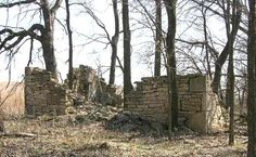 Remains of 1862 indian home in Allegawaho Heritage Memorial Park Council Grove, Kansas