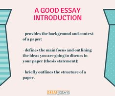 essay introductions examples