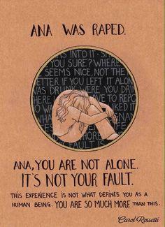 Ana was raped.