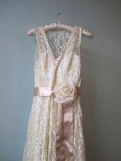 modern twist on a lace pattern dress