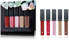 Get a gorgeous, super shiny pout with Smashbox's On The Rocks Lip Gloss Set. An $80 value!.
