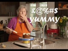 Vegan & Gluten-Free Birthday Cake by Potty Mouth Granny - YouTube --- FUCKIN HILARIOUS!!!! Y'all have GOT to watch this shit!!!! Bahahahahahahaaaa!!!!!! #OldLadyGoals