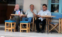 Agios Nikolaos - old men of Crete