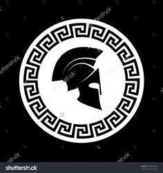 Imagen relacionada Bro Tattoos, Body Art Tattoos, Sleeve Tattoos, Tatoos, Warrior Helmet, Spartan Helmet, Spartan Warrior, Sparta Logo, Sparta Tattoo
