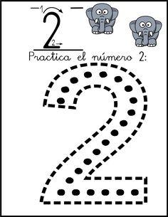 Lectoescritura y grafomotricidad numero 2