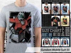 Kaos Couple Family Gundam Robot, Kaos Gundam Robotic Tokyo, Kaos Gundam Yoshiyuki Tomino