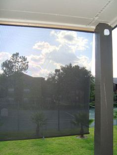 DIY sun shade/solar shield