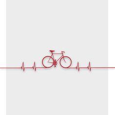 Bike Beat Canvas Print by Emma J. Hardy