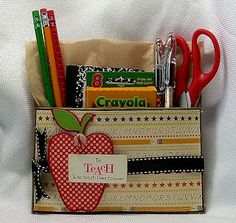 Beth-A-Palooza: Back To School Paper Pouch