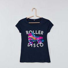 57f5c21518 T-shirt met korte mouw meisjes - kinderkleding - altijd tegen lage prijzen  | Kiabi