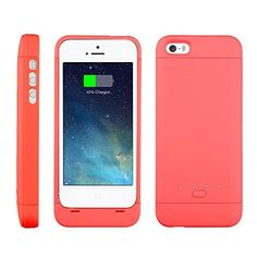 [Apple-Certified] EasyAcc® MFi 2200mAh Colorful iPhone 5 5s 5c Battery Charging Case,Rechargeable Extended Protective Battery Case for iPhone 5 5s 5c,Original Lightning Charging Plug,Pink [24-Month Warranty], http://www.amazon.com/dp/B00N2R0MTM/ref=cm_sw_r_pi_awdm_o1sVub0C6YRNP
