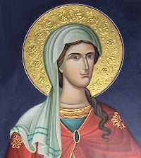 St. Lydia: Today is the feast of St. Lydia, a native of Thyatira, a city in Asia Minor famous for its dye-works, whence Lydia's trade — purple seller. She was at Philippi in Macedonia when she became St. Paul's first convert in Europe and afterward his hostess. #Catholic #Pray