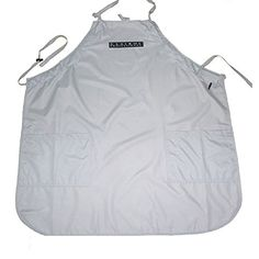 Creation Core Waterproof Pet Grooming Apron with Pockets Lightweight Nonstick Hair for Professional Amateur Groomers * Learn more by visiting the image link.