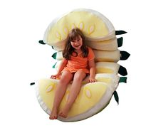 Fruit furniture #4, Melon (Or apple slices) chair