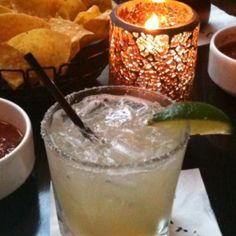 EAT  & DRINK! Javier's - Newport Beach, CA...deliscious and refreshing margaritas with slices of cucumbers!