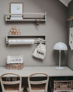 Cute Desk, Bedroom Inspo, Kidsroom, New Room, Kids Decor, Room Interior, Kids Bedroom, Baby Room, Playroom