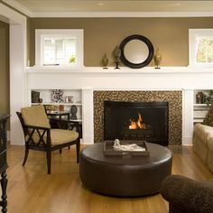 Fireplace With Built-in Bookshelves Design, Pictures, Remodel, Decor and Ideas - page 8