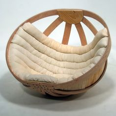 Cradle chair.