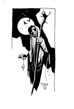 Mike Mignola, Witch with Eyeball