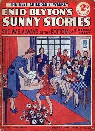 Enid Blyton's Sunny Stories, came out every week. Authors, Writers, The Book Of You, Enid Blyton, Teacher Supplies, Old Comics, Christmas Books, My Memory, Vintage Books