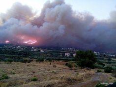 Μεγάλη φωτιά στις Βοιές: Εκκενώθηκαν χωριά | Laconialive.gr – Η ενημερωτική ιστοσελίδα της Λακωνίας, Νέα και ειδήσεις