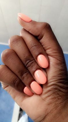 Love my nails this color