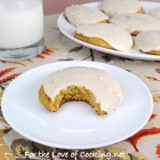 For the Love of Cooking » Pumpkin Cookies with Browned Butter Icing