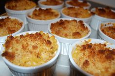 Baked Macaroni and Cheese for a Crowd...when you need to feed 100+ people my grandma shared this recipe in her journal. (image credit: http://www.flickr.com/photos/kendallsentertaininglife/3551549745)
