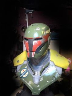 Iron Man Vs Boba Fett; Star Wars
