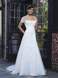 Sincerity trouwjurk - Nieuwe collectie trouwjurken van Sincerity 2015 bij Bruidsmode Hedwig