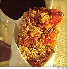 Apricot-Walnut Cereal Bars from @WebMD