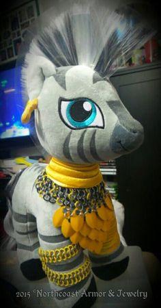 Zecora/Pony Custom made Chainmail Armor
