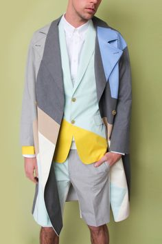 Read our new interview with Belgian designer Walter Van Beirendonck here. Shop all Walter Van Beirendonck here. Walter Van Beirendonck, Fashion Details, Fashion Design, Facon, Dapper, Textiles, Sportswear, Fashion Photography, Creations