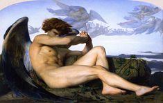 Fallen Angel, Alexander Cabanel, 1868.