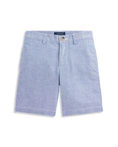 Polo Ralph Lauren Boys' Oxford Shorts - Little Kid - Blue