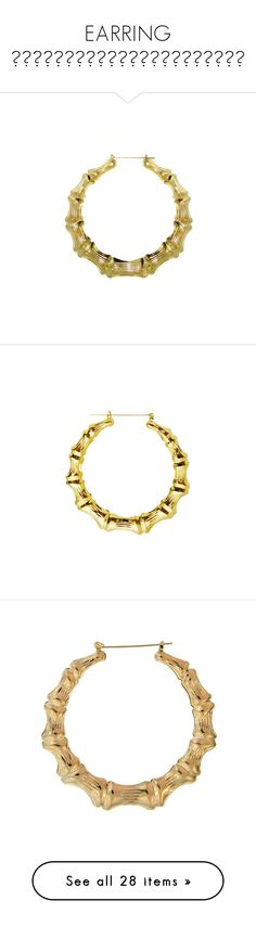"""EARRING ♡。✩˚。⋆。♡。✩˚。⋆。♡。✩˚。⋆。♡"" by diamonddolll ❤ liked on Polyvore featuring jewelry, earrings, accessories, jewels, bamboo hoop earrings, earring jewelry, hoop earrings, bamboo jewelry, bamboo earrings and necklaces"