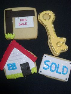 Real Estate Cookies.