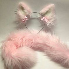 More tails. Outfits Kawaii, Kawaii Clothes, Cute Outfits, Kittens Playing, Baby Kittens, Wolf Ears And Tail, Kitten Play Gear, Looks Kawaii, Daddy Kitten