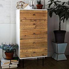 Reclaimed Wood + Lacquer 5-Drawer Dresser | West Elm ($1,299)