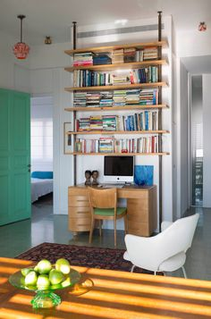 A Colorful Tel Aviv Apartment by the Sea - Design Milk
