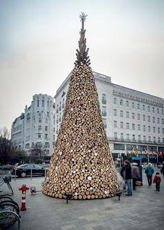 Budapest: Weihnachtsbaum für Bedürftige